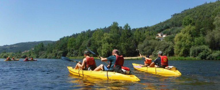 O Pioneiro do Mondego: Kayak-trips
