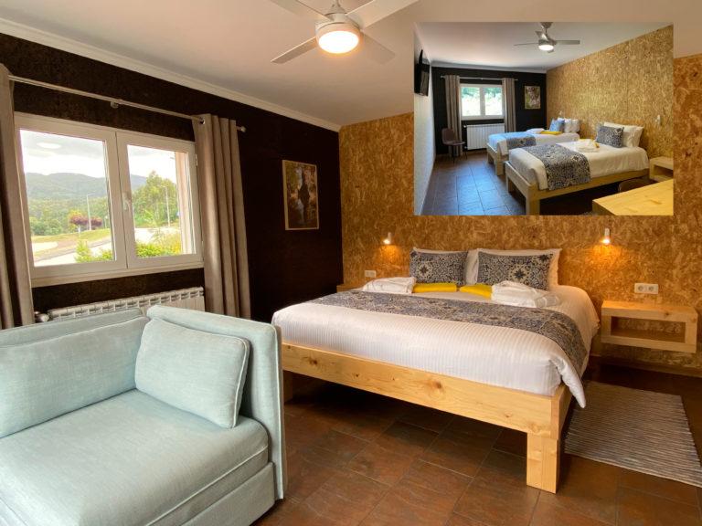 Chambre 6 – Suite de luxe (4 ou 5 personnes)